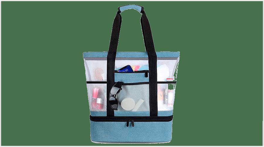 bolsos de playa transparentes
