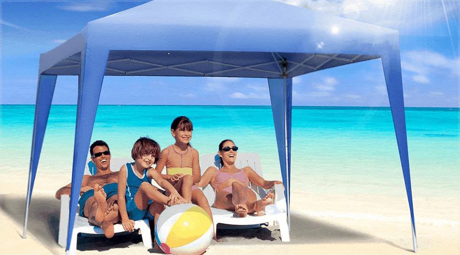 carpa de playa