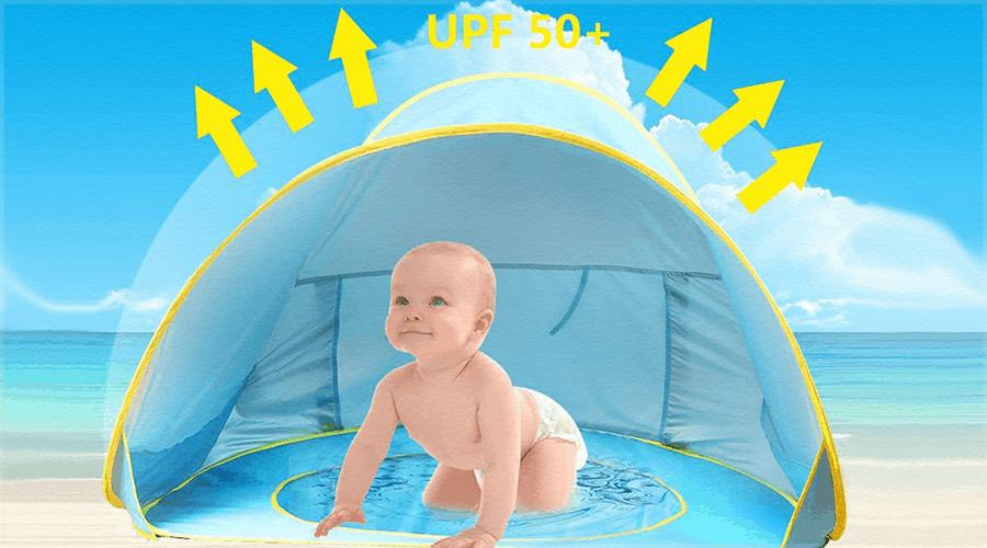carpa de playa para bebes